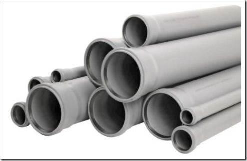 Пластиковые трубы для бытовых нужд
