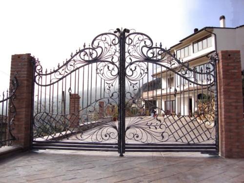 Как сварить кованые ворота