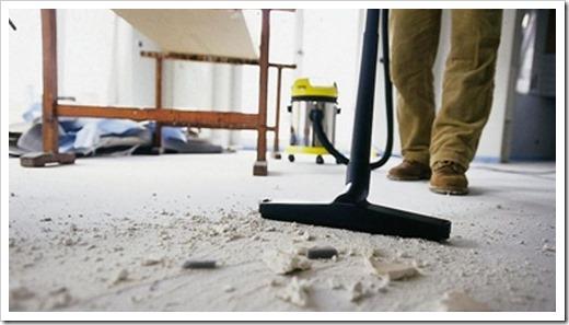 Как происходит уборка после ремонта?