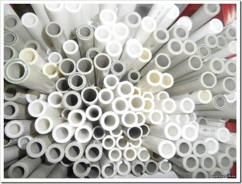 Полиэтиленовые пластиковые трубы