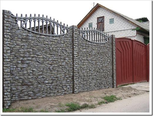 Как соединять еврозабор с воротами на участок?