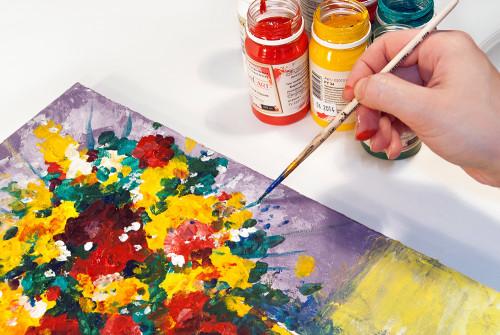Как пользоваться акриловыми красками