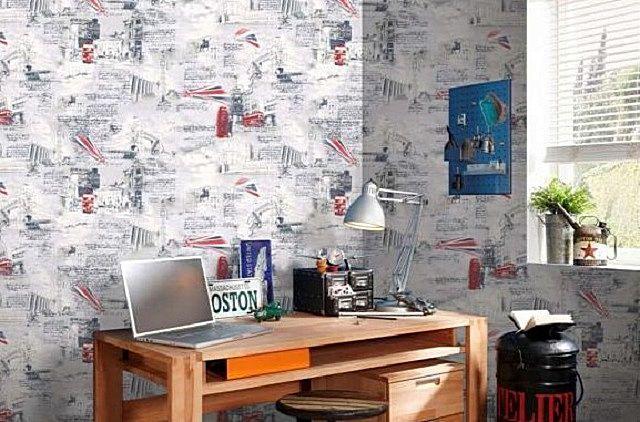 Бумажные обои — неплохой выбор для стен