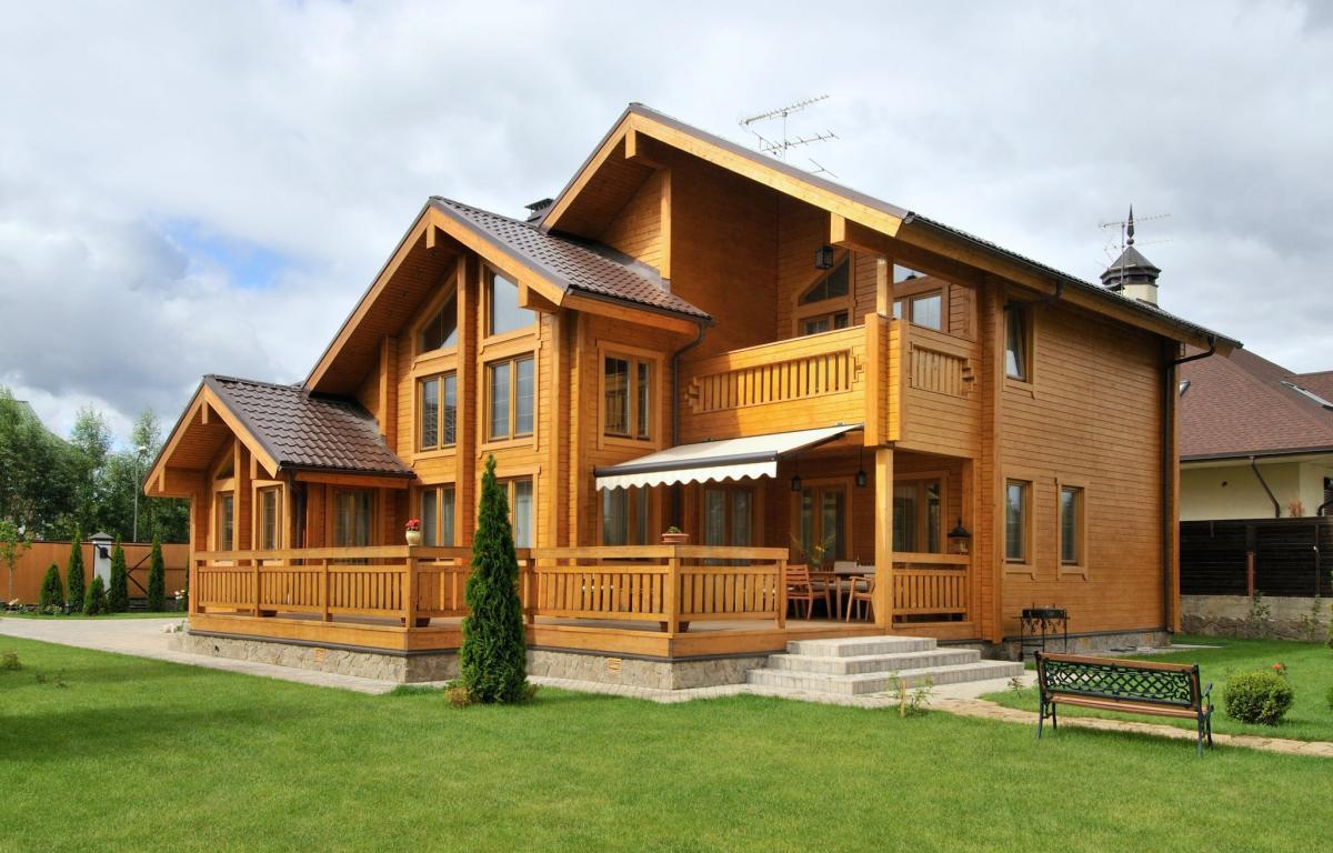 Давайте строить дом из дерева