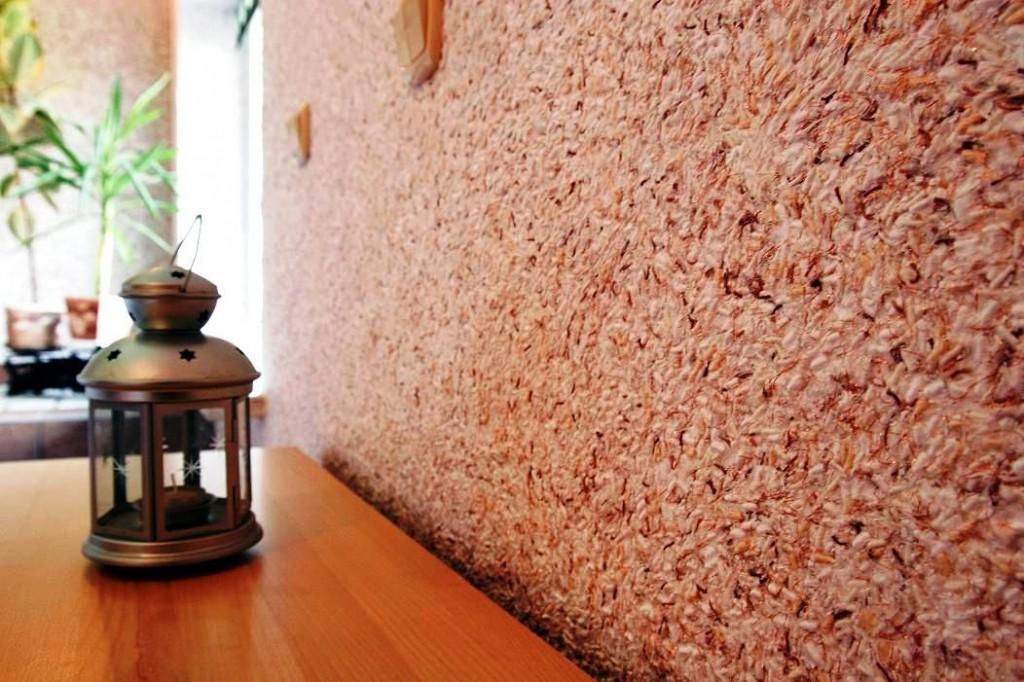 Декорирование стен жидкими обоями Köller