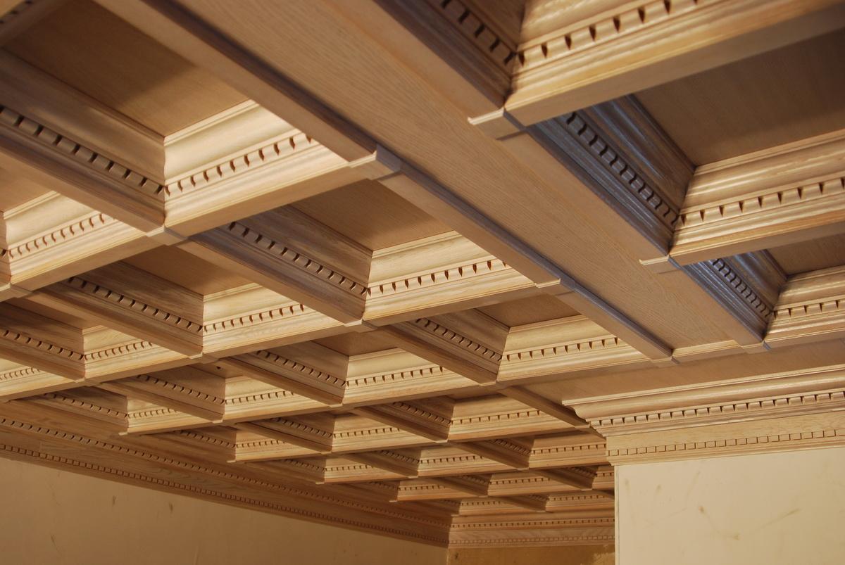 Деревянные потолки от компании «Грандекор»