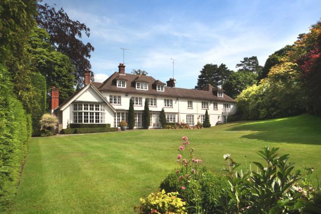 Загородный дом в лучших английских традициях