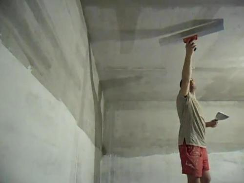 Как выровнять потолок.