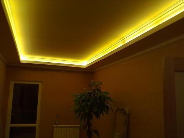 Как обустроить подвесной потолок