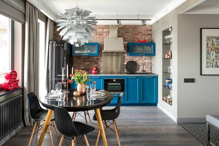Как оформить кухню в стиле фьюжн?