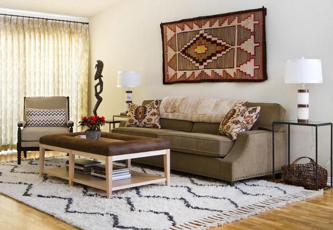 Уникальный дизайн в вашем доме. Разновидности ковров