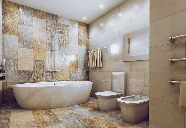 Как выбрать подходящую плитку для ванны и кухни?