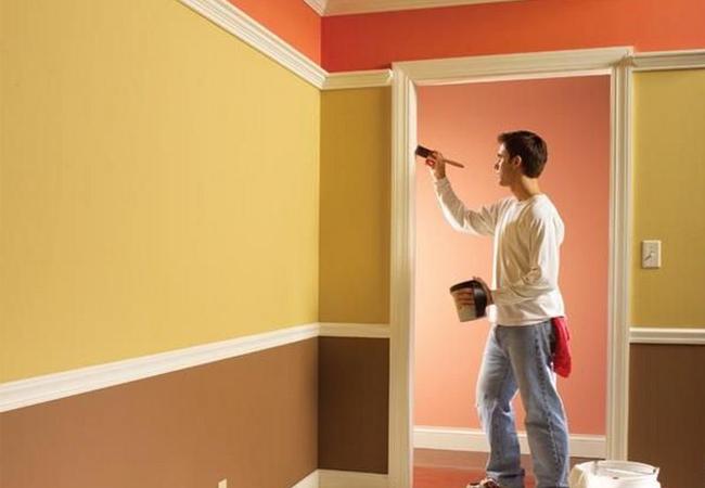 Декоративные покрытия. Краска для стен и потолков