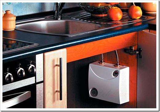 От чего работает проточный водонагреватель?