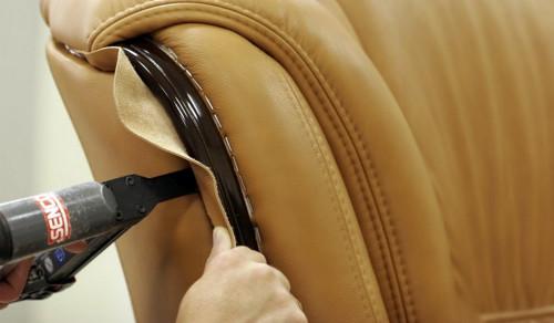 Как самому перетянуть мягкую мебель