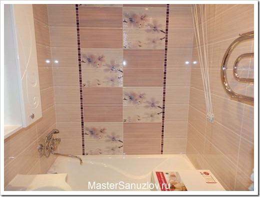 Виды керамической плитки для ванной комнаты