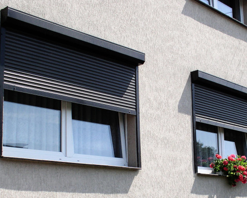 Виды рольставен на окна