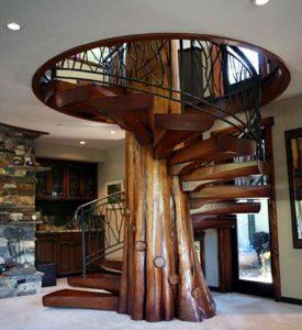 сказочная винтовая лестница