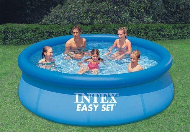 Какой надувной бассейн купить для дачи