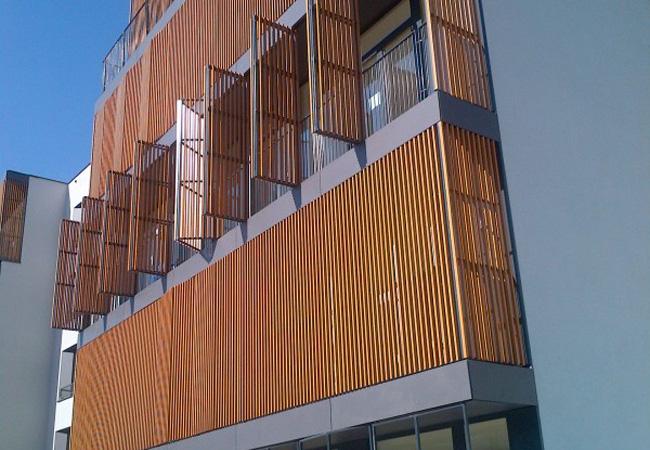 Фасадні панелі і системи для вентфасадів