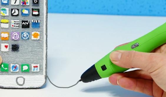 Принцип работы 3d ручки